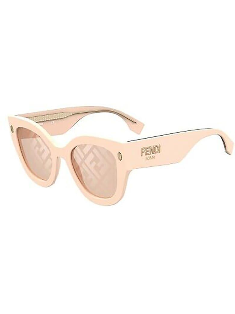 Fendi FF 0452/F/S Sunglasses - J/eb Pink