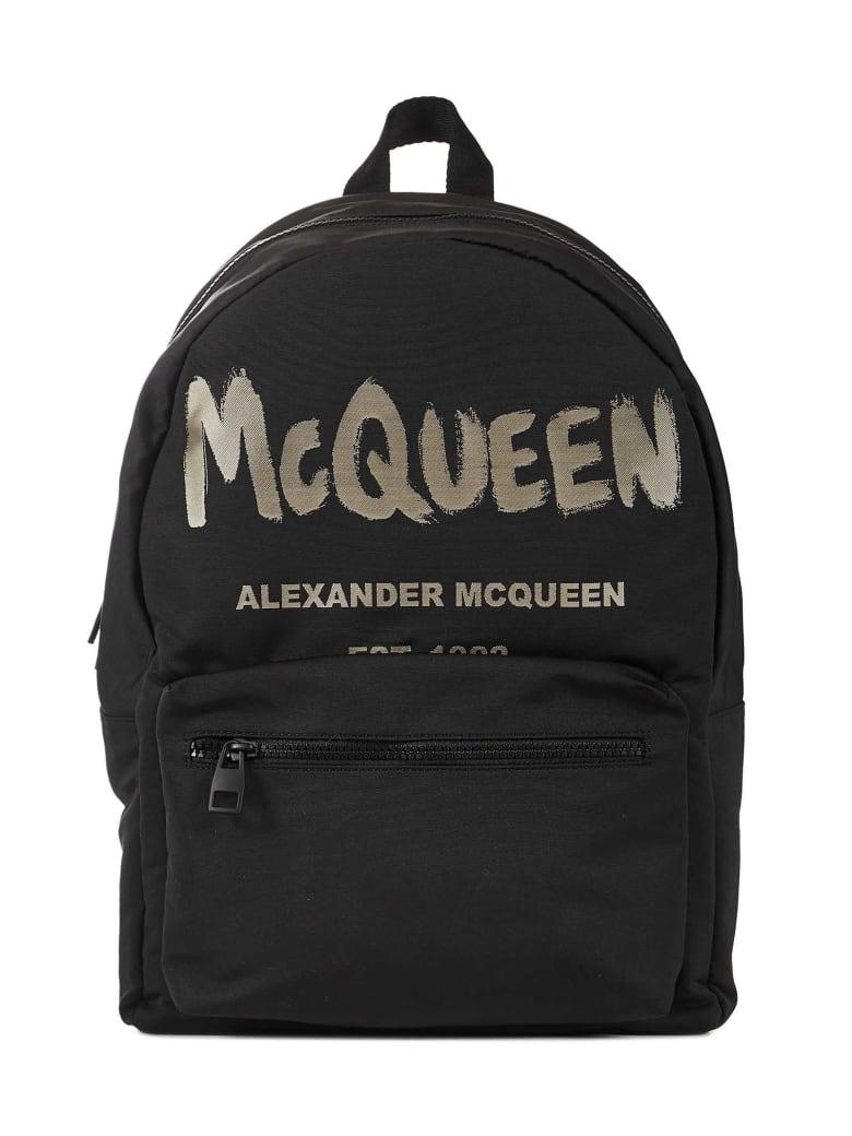 Alexander McQueen Metropolitan Backpack - Black