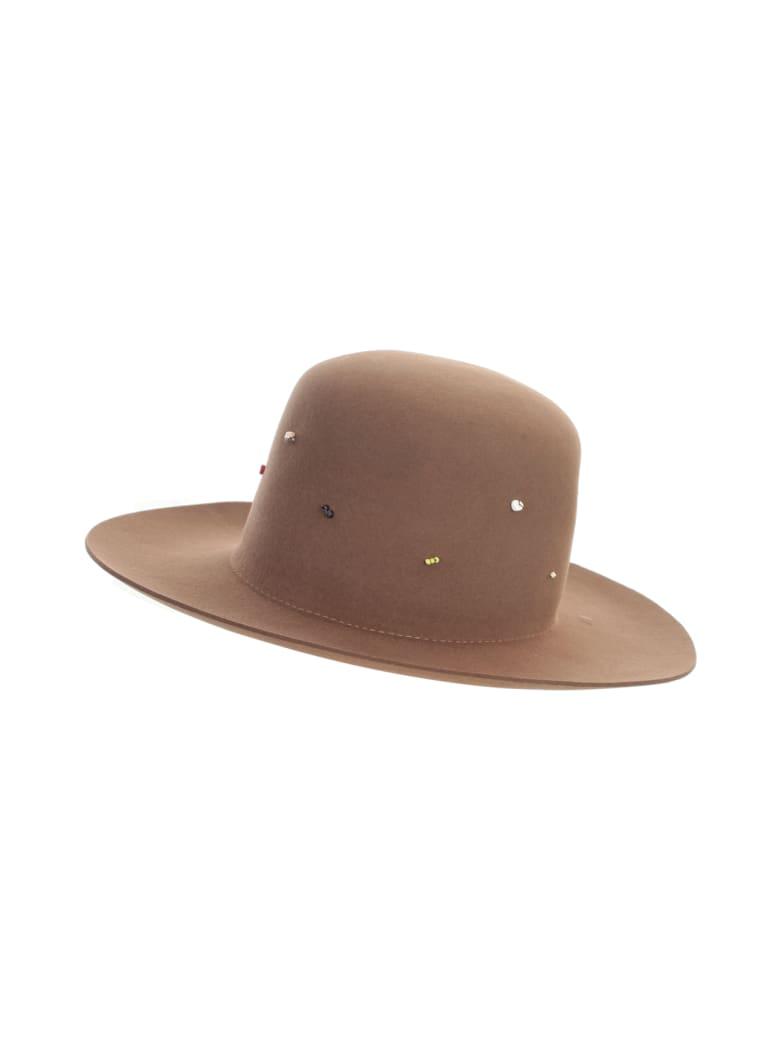 Super Duper Hats Round Crown Large Raw Brim - Pony
