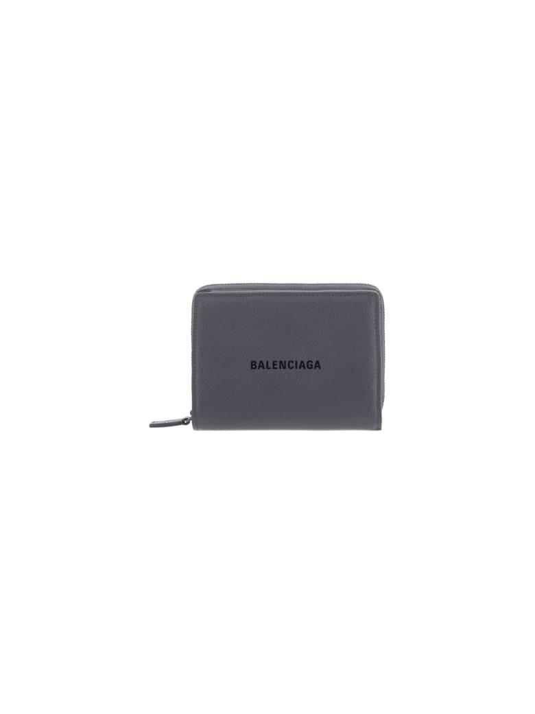 Balenciaga Wallet - Dark grey/l black
