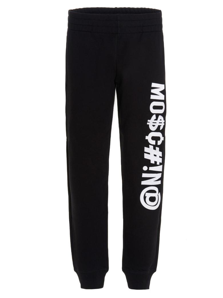 Moschino 'symbols' Pants - Black