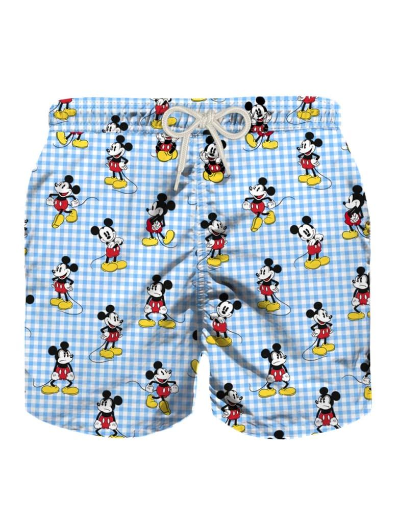 MC2 Saint Barth Action Mickey Mouse  Boy Light Swim Trunks