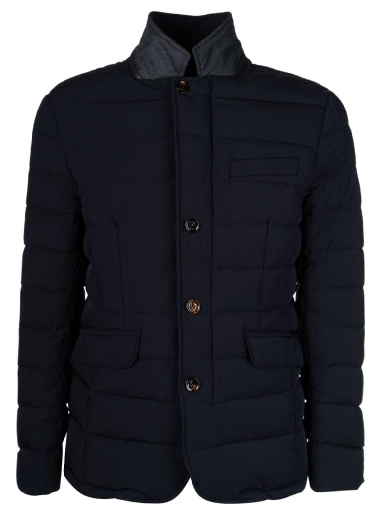 Moorer Zayn Padded Jacket - Dark Blue