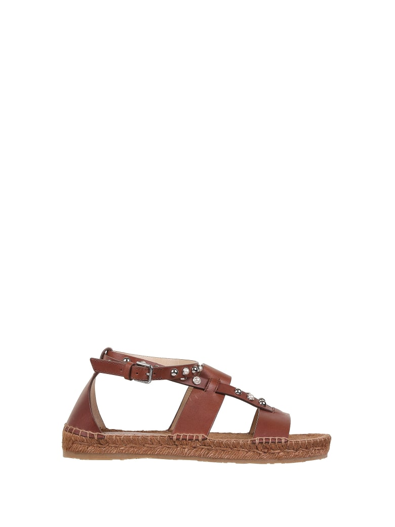 Jimmy Choo Sandals - Cognac