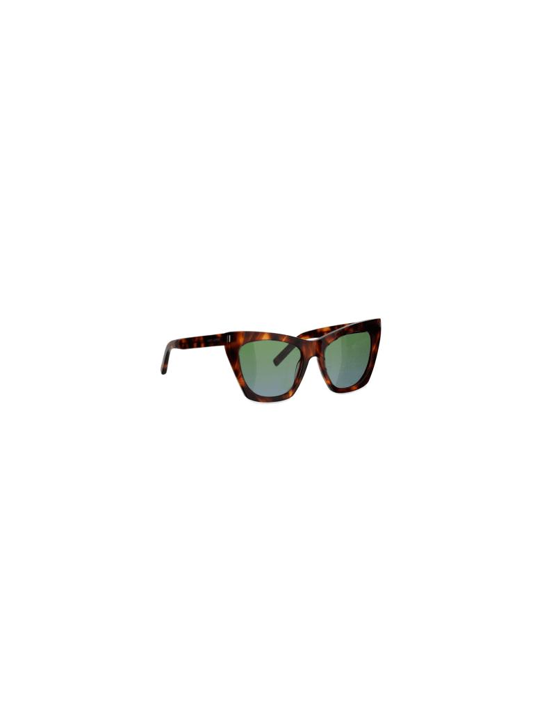 Saint Laurent Kate Sunglasses - Brown
