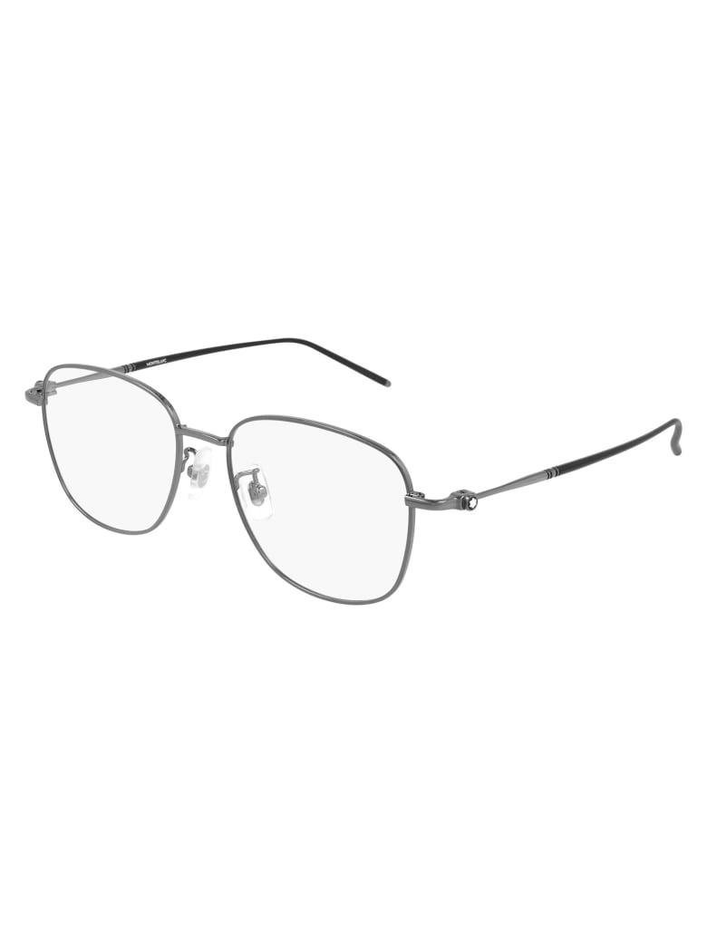 Montblanc MB0139OK Eyewear - Ruthenium Ruthenium T