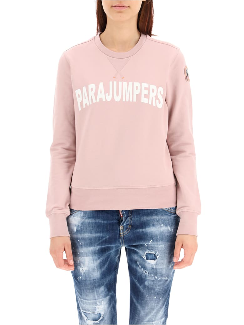 Parajumpers Bianca Sweatshirt With Logo - SILVER PINK (Pink)