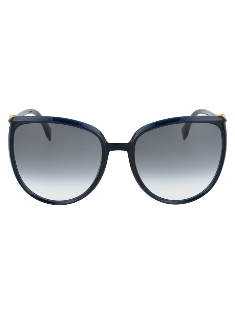 Fendi Ff 0432/g/s Sunglasses - PJP9O BLUE