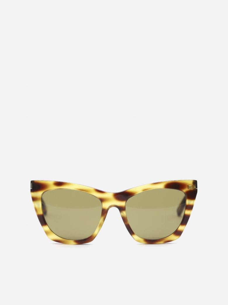 Saint Laurent New Wave Sl 214 Kate Sunglasses - Yellow
