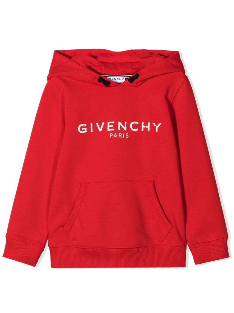 Givenchy Sweatshirt With Print - Rosso