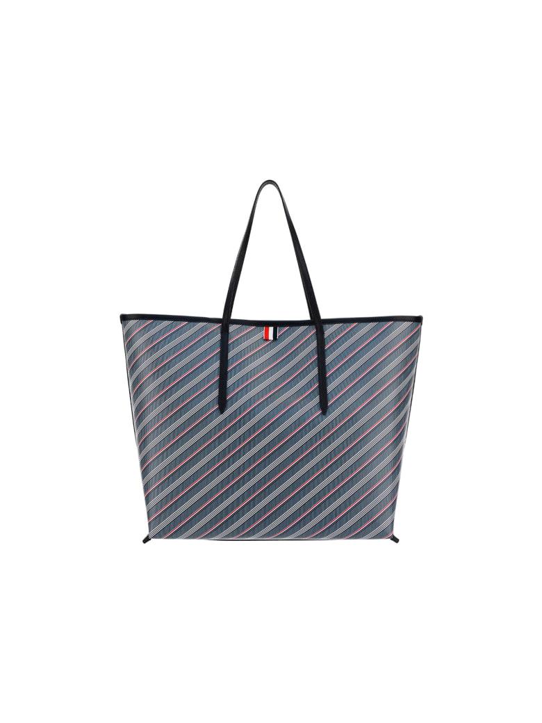 Thom Browne Shopping Bag - Med grey