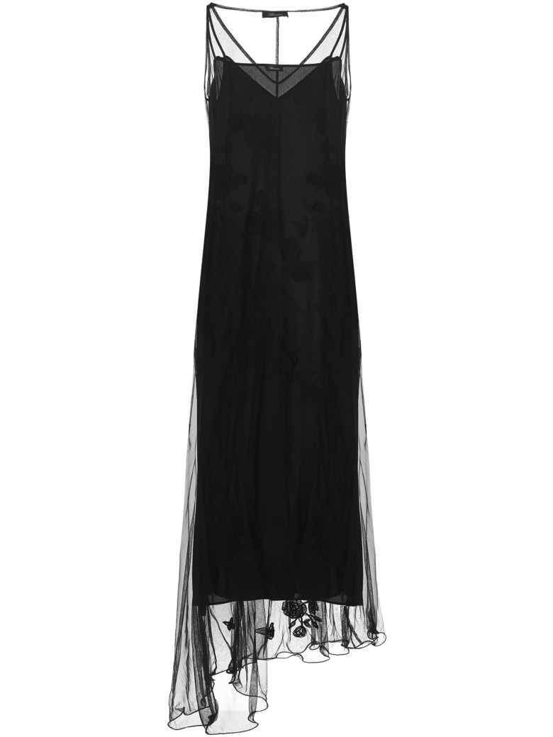 Blumarine Long Dress - Black