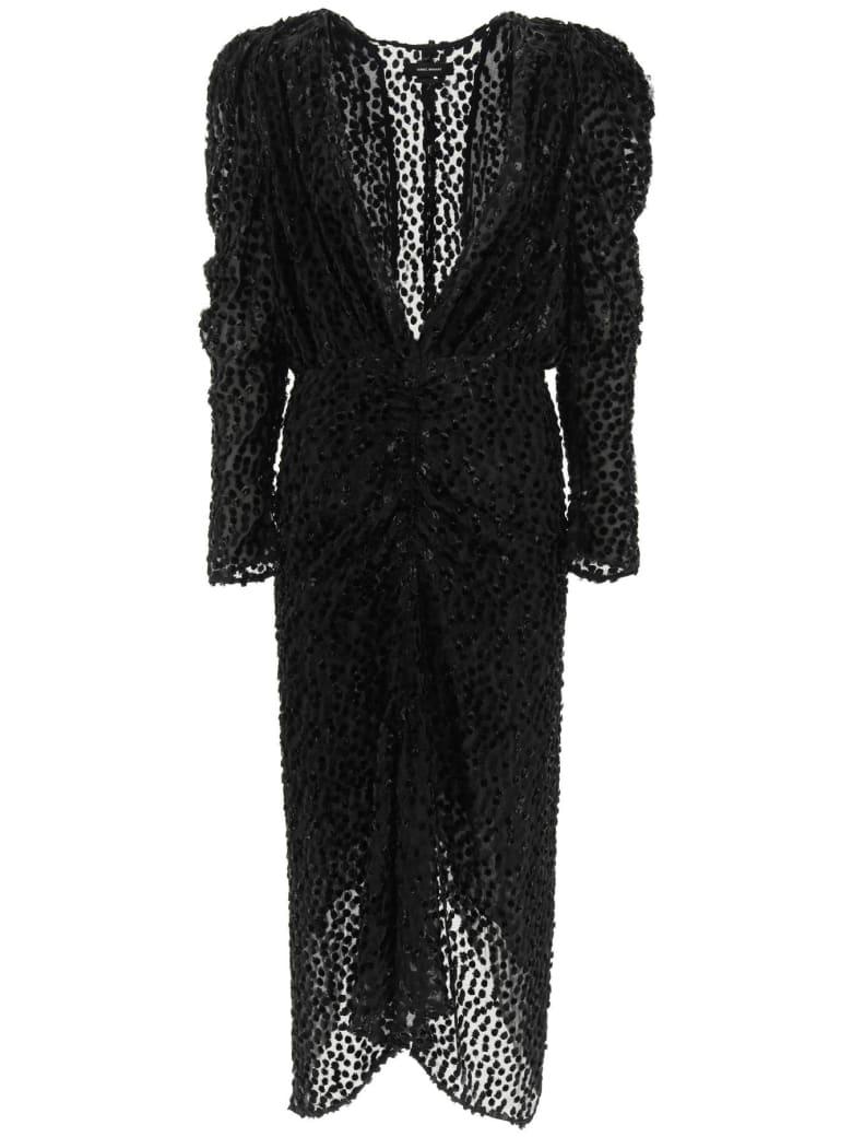 Isabel Marant Maray Midi Dress - BLACK