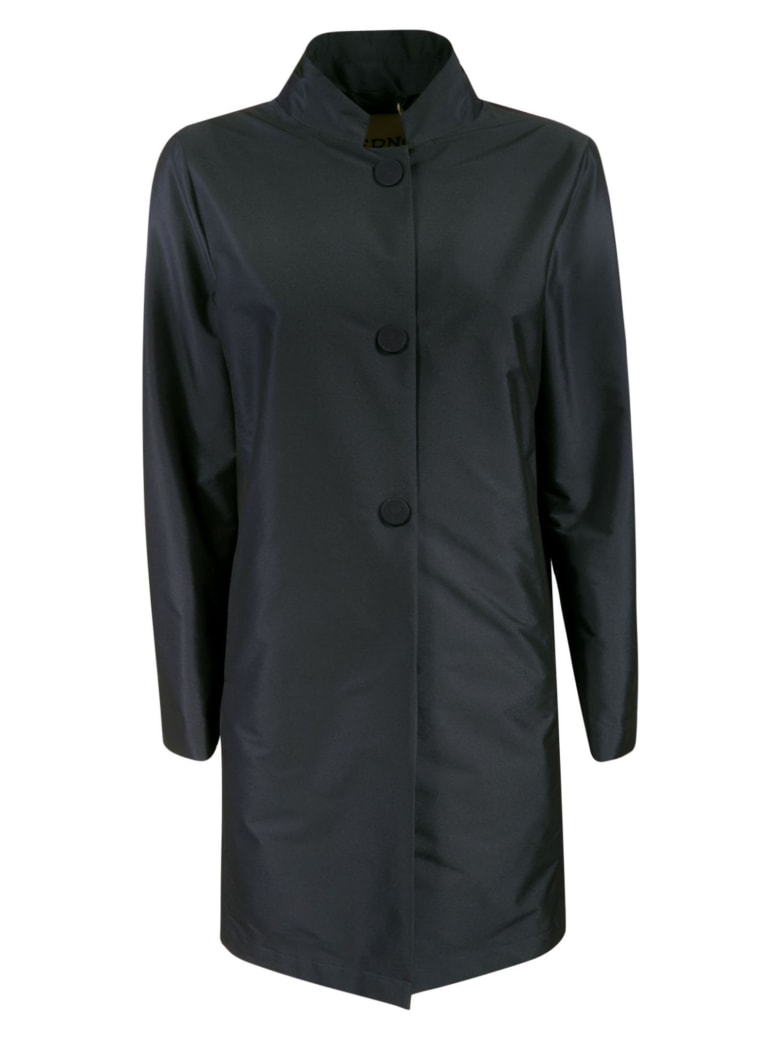 Herno Classic Buttoned Jacket - Blu