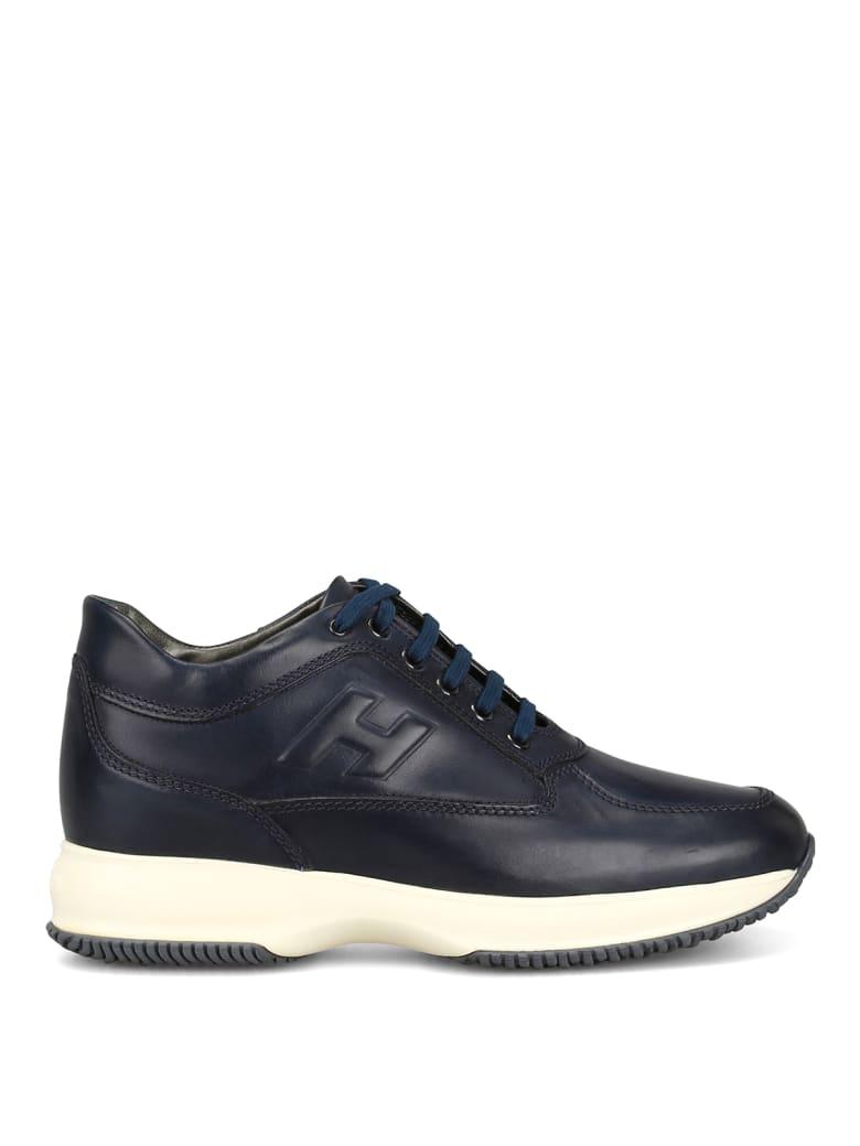 Hogan Laced Shoes - Dark blue