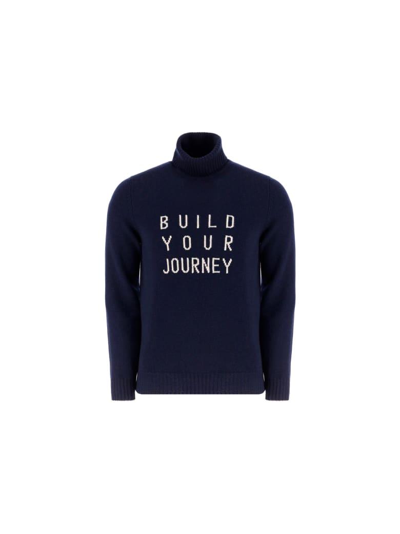 Brunello Cucinelli Turtleneck Sweater - Navy