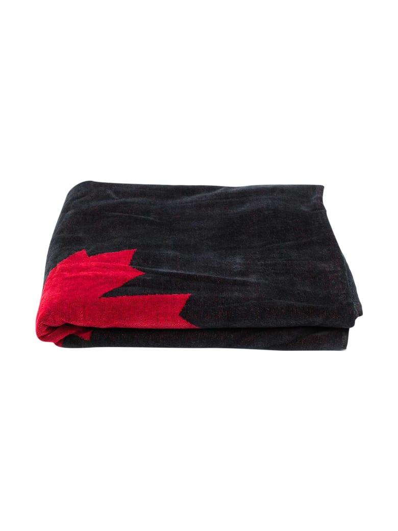 Dsquared2 Black Beach Towel - Nero