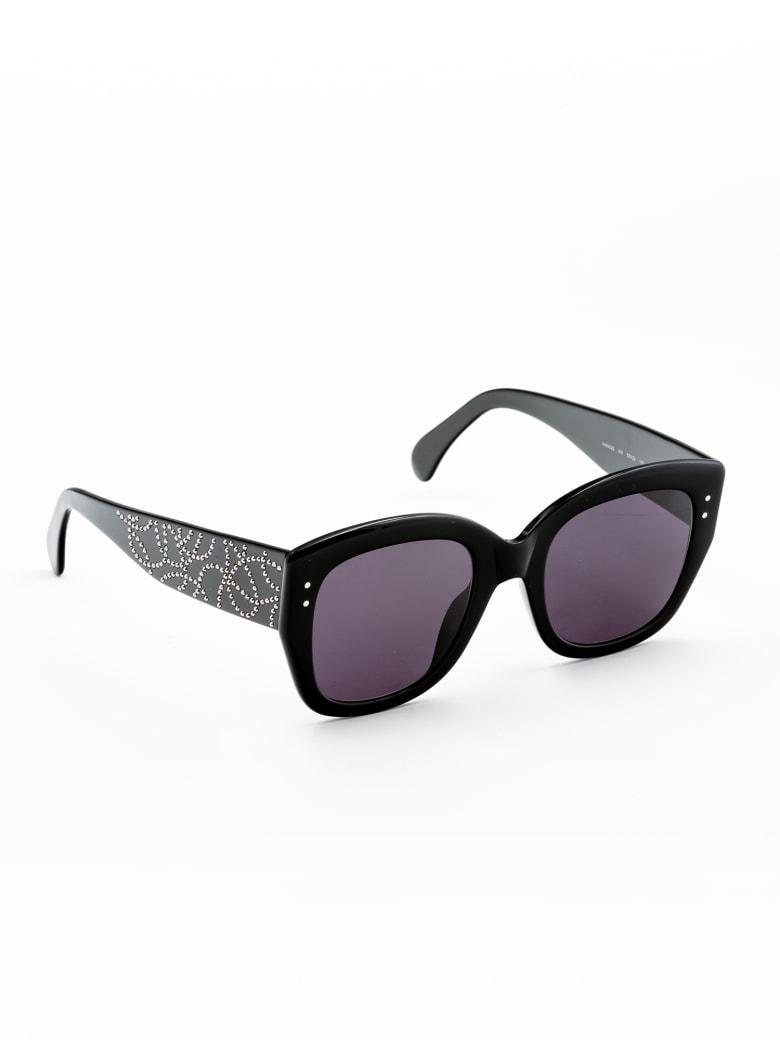 Alaia AA0052S Sunglasses - Black Black Grey