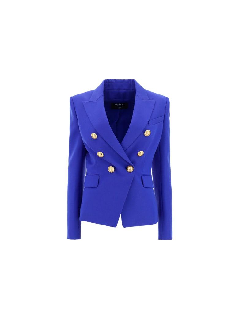 Balmain Jacket - Bleu gitane