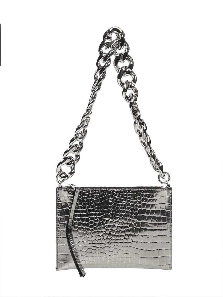 N.21 N°21 Shoulder Bag - Silver