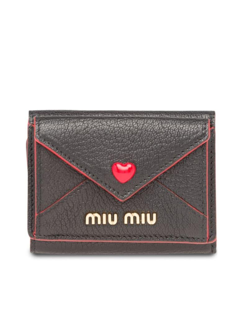 Miu Miu Madras Love - Black