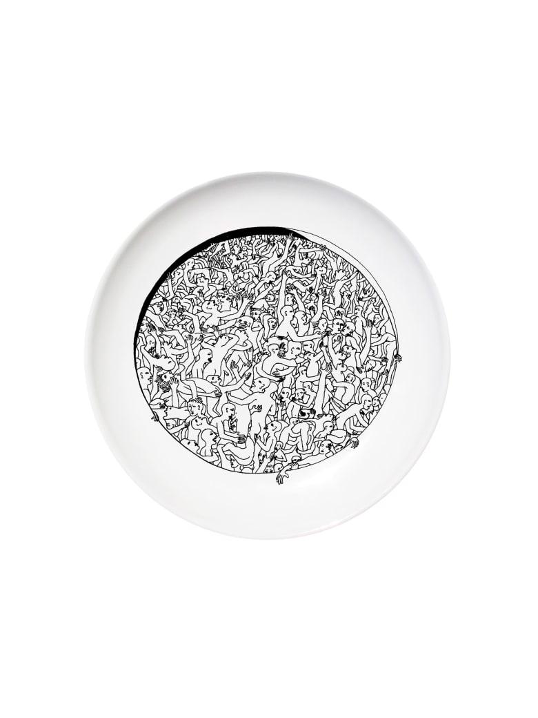 Kiasmo Dish Libertine | Ulysses - Black/White
