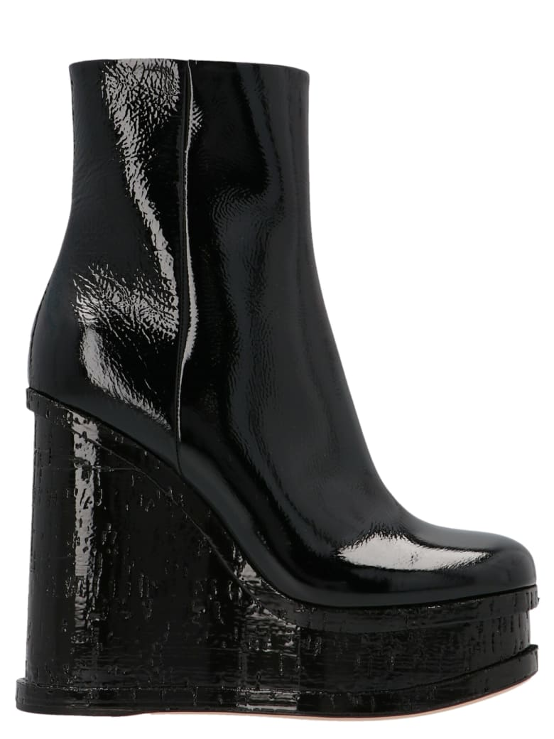 Haus of Honey 'laquer Doll' Shoes - Black