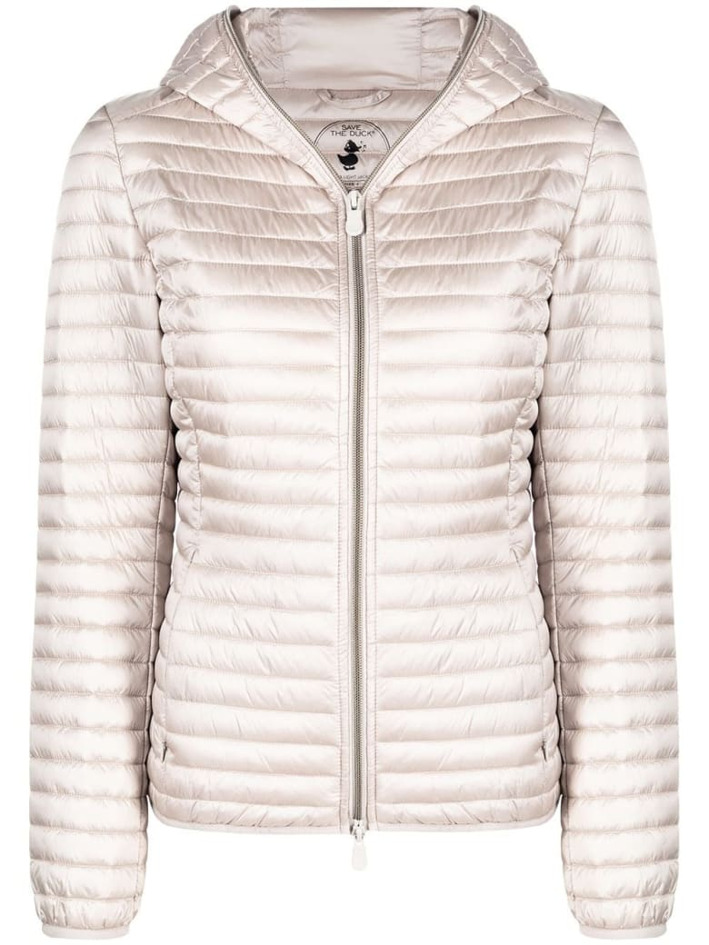 Save the Duck Alexis Down Jacket In Beige Nylon