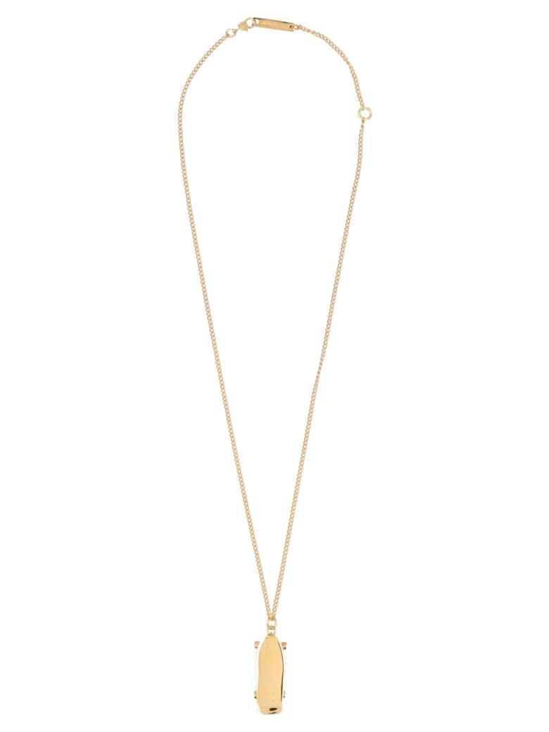AMBUSH 'skateboard' Necklace - Gold
