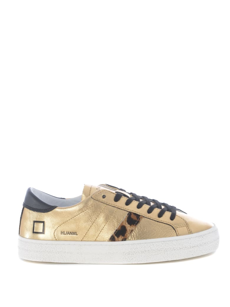 D.A.T.E. Sneakers - Gold