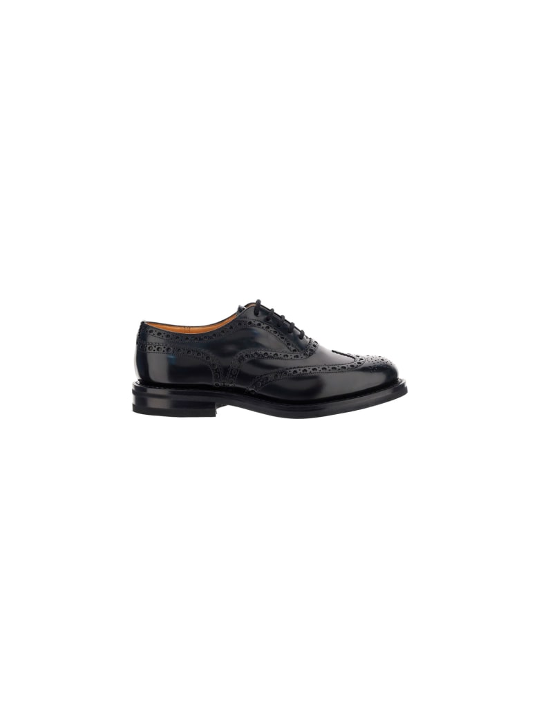 Church's Churchs Burwood Lace Up Shoes - Black