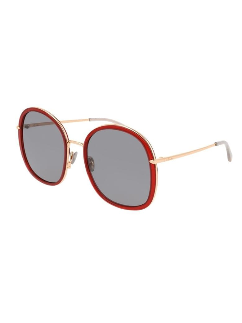 Pomellato PM0081S Sunglasses - Red Gold Grey