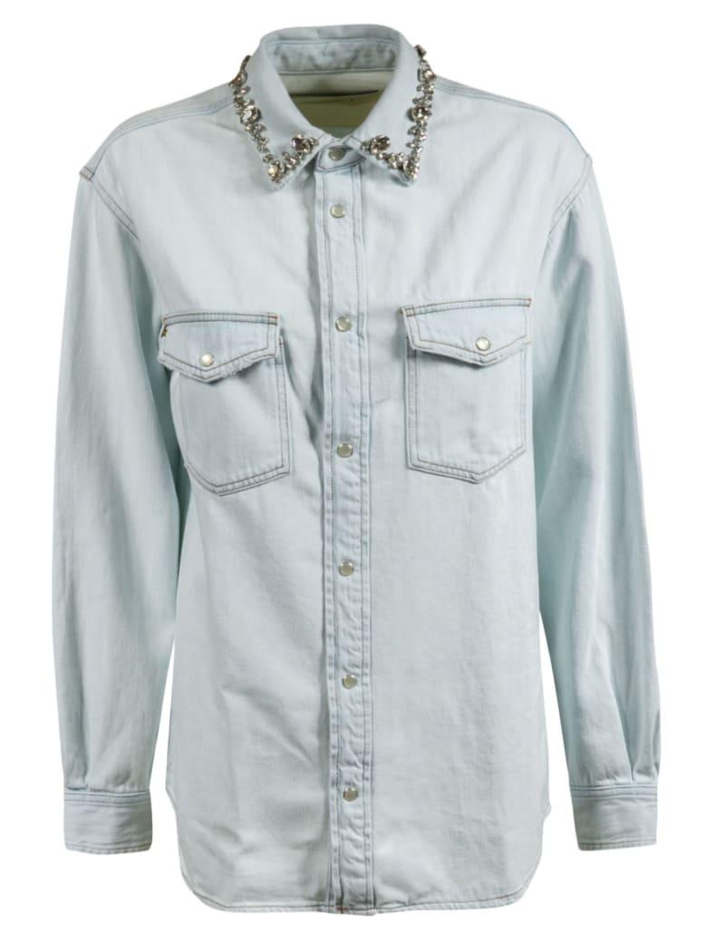 Golden Goose Becca Boyfriend Shirt - Blue