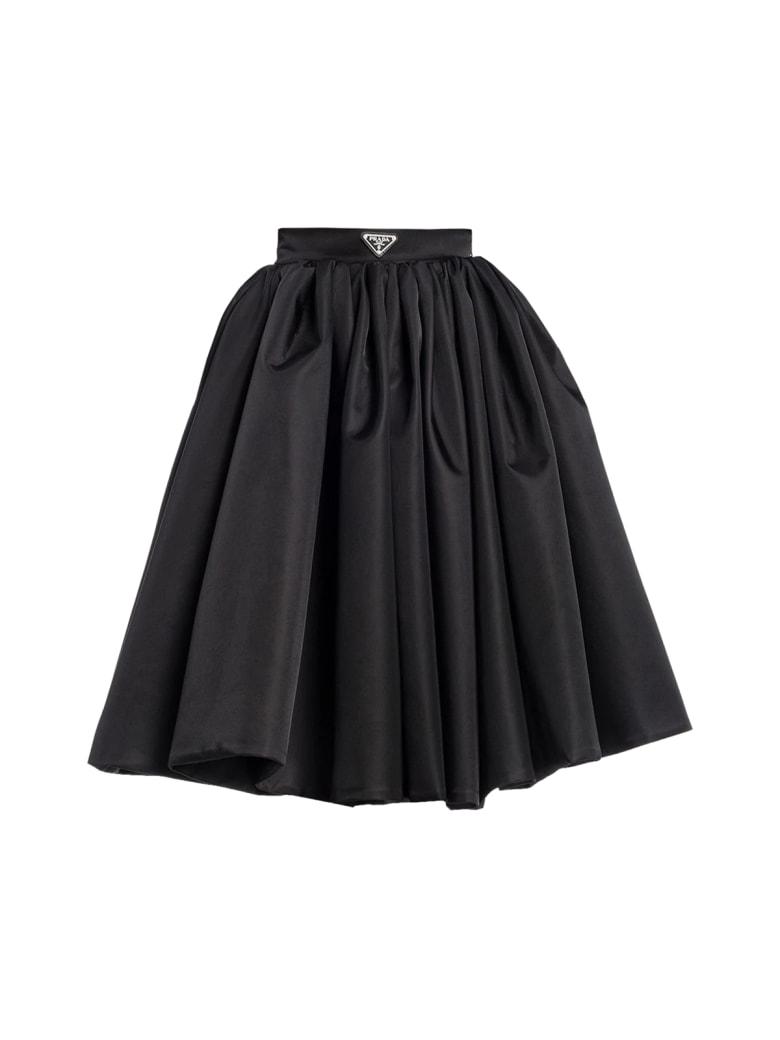 Prada Midi Skirt - Black