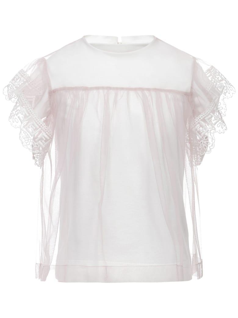 Fendi Kids Dress - Pink