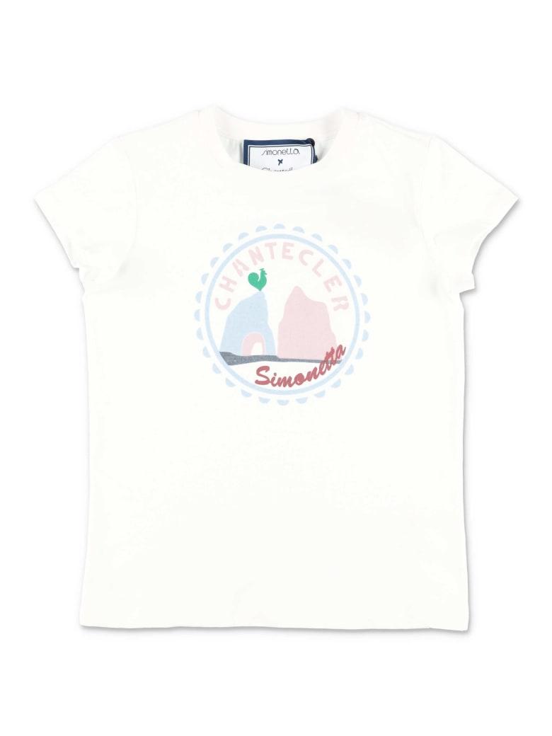 Simonetta T-Shirt - Bianco