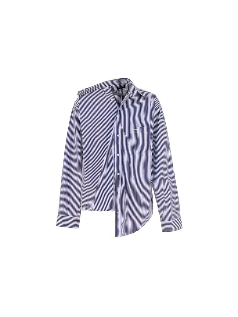 Balenciaga Shirt - Navy/white