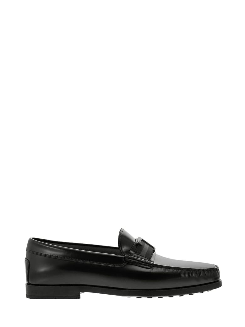 Tod's Timeless Leather Loafer - Black