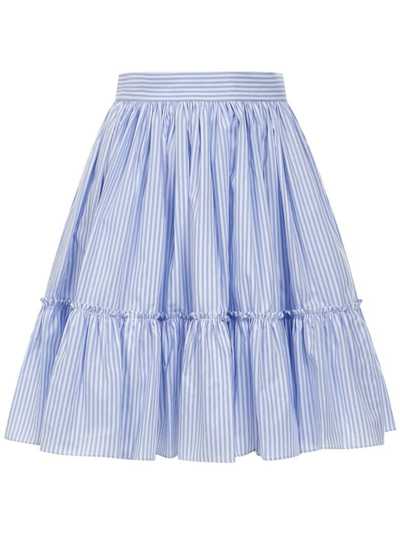 Sara Battaglia Skirt - Light blue