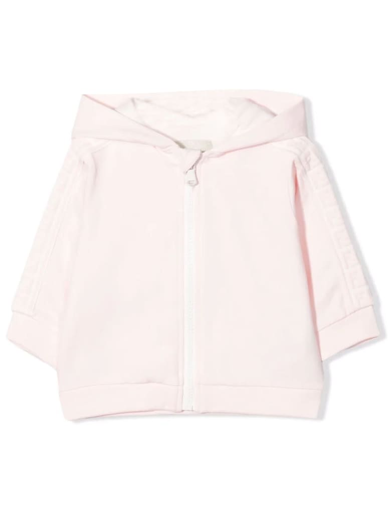 Fendi Pink Coton-blend Sweatshirt - Rosa