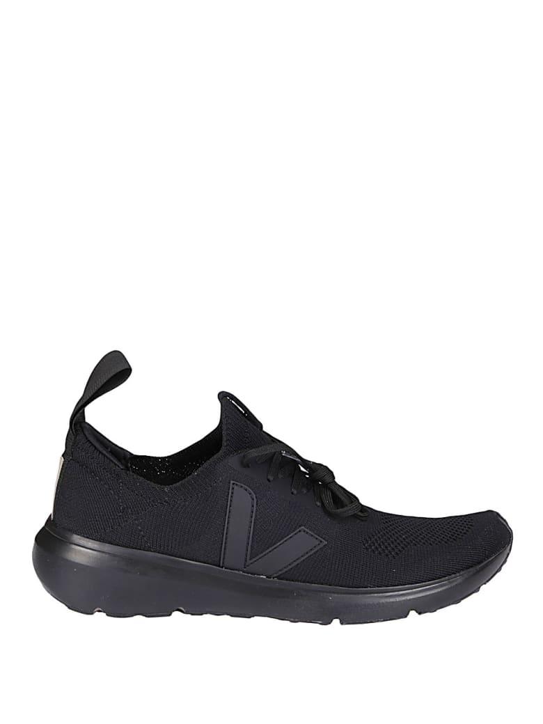 Rick Owens Black Canvas Sneakers - Nero