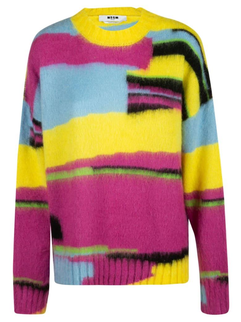 MSGM Ribbed Sweater - Multicolor