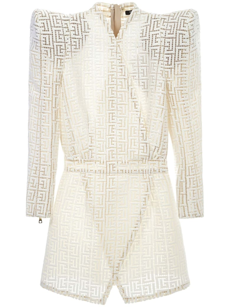 Balmain Paris Dress - White