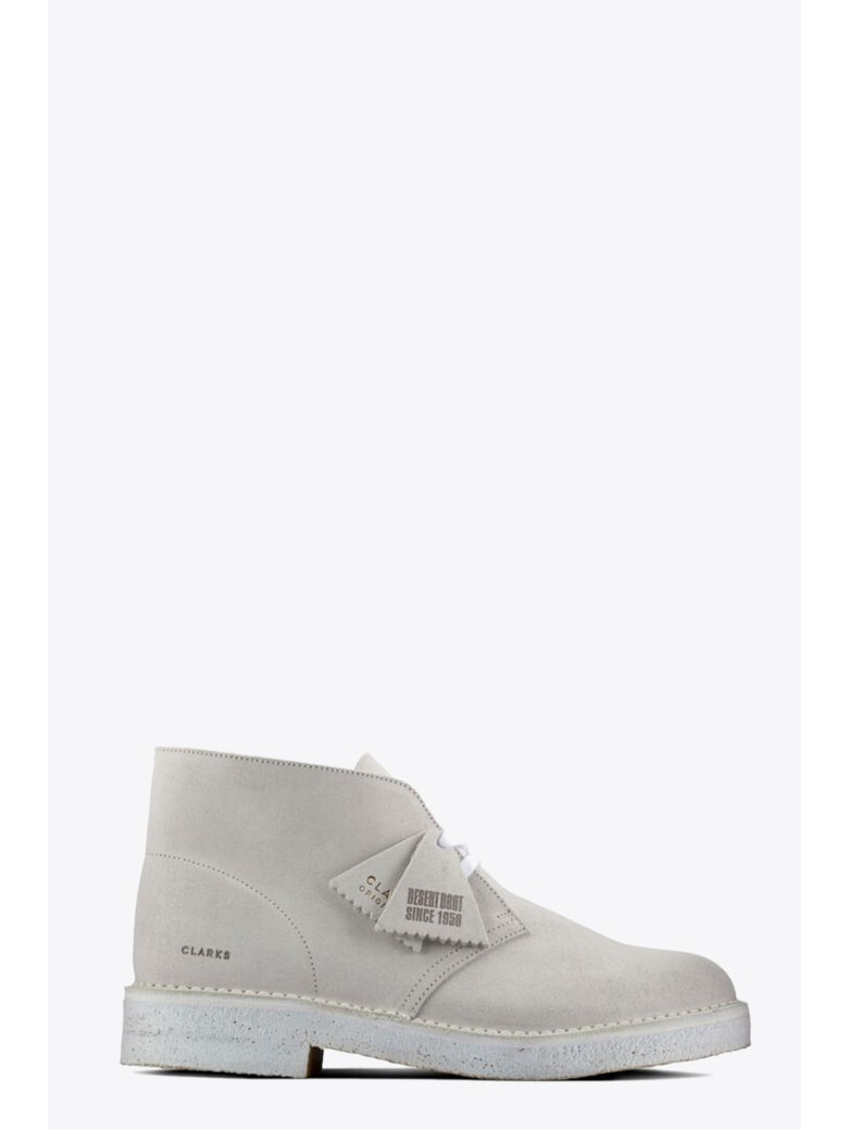 Clarks Desert Boots - Bianco