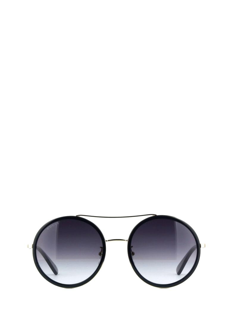 Gucci Gucci Gg0061s Black Sunglasses - Black