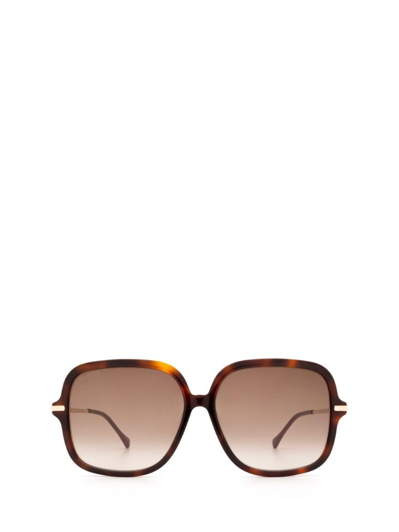 Gucci Gucci Gg0884sa Havana Sunglasses - Havana