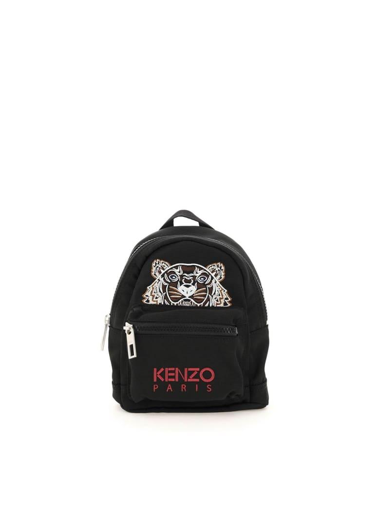 Kenzo Mini Tiger Backpack - BLACK/MULTICOLOUR
