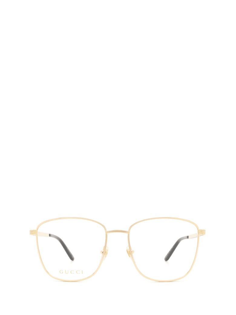 Gucci Gucci Gg0804o Gold Glasses - Gold