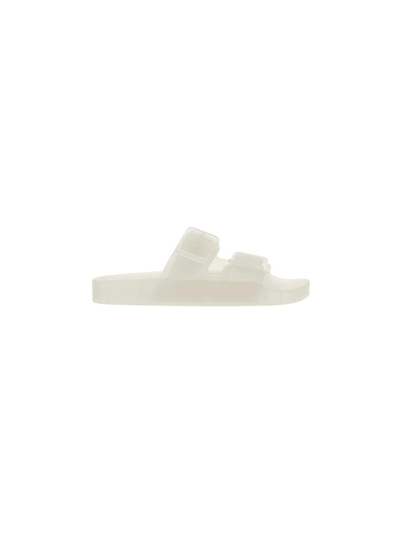 Balenciaga Mallorca Sandals - White