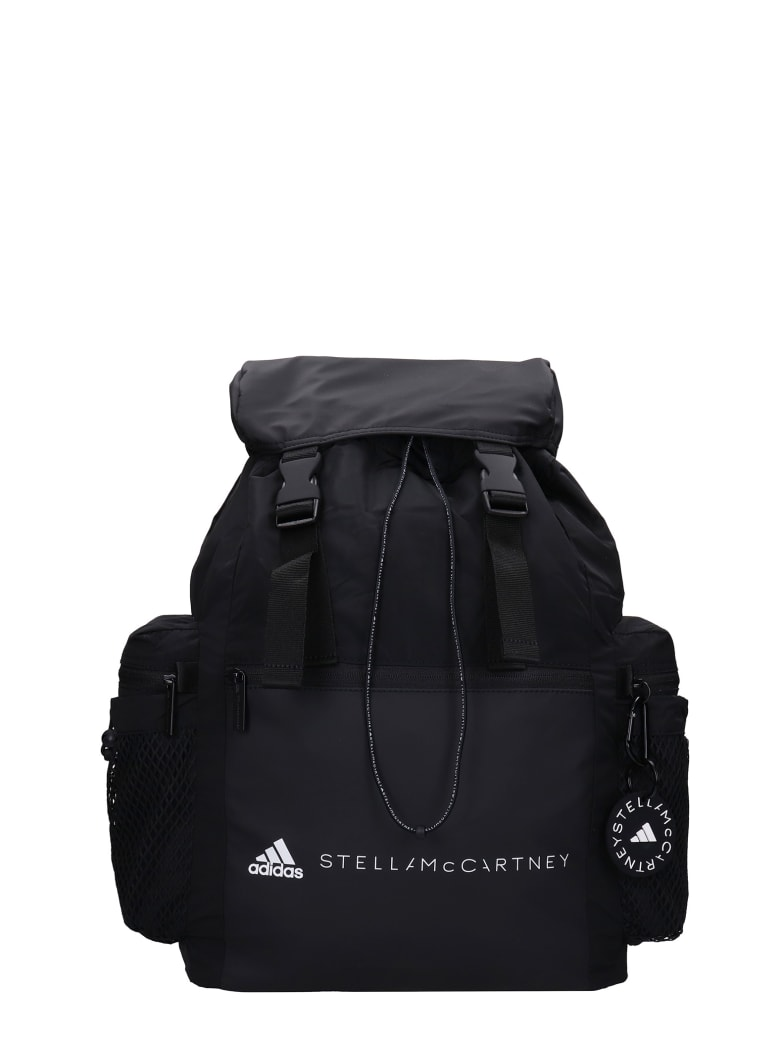 Adidas by Stella McCartney Backpack In Black Polyester - black